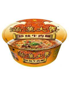 統一 満漢大餐珍味牛肉麺(辛口)