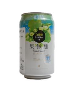 台湾 ホワイトグレープビール / 台湾啤酒 白葡萄 330ml